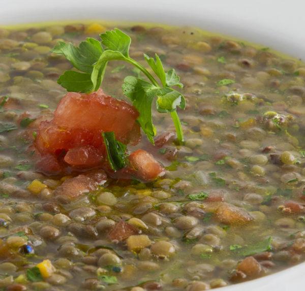 Zuppa di lenticchie bio