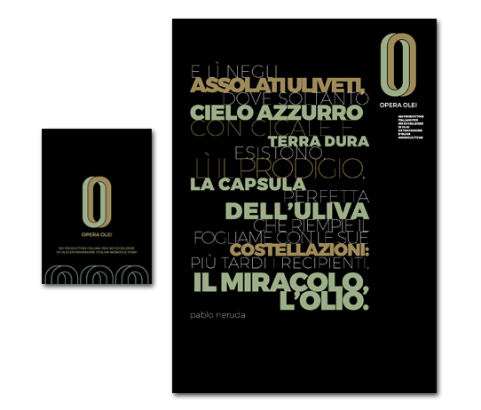 pieghevole opera olei poster